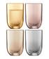 4pc Polka metallic vodka glass set Sale - lsa Sale