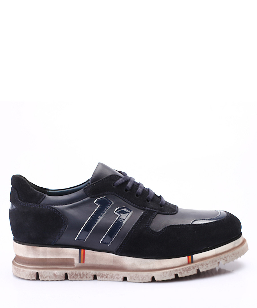 midnight leather sneakers Sale - s baker