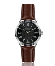 Wiesbaden brown leather watch