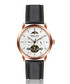 Dinkelsbuhl black leather watch Sale - walter bach Sale