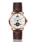 Dinkelsbuhl walnut leather watch Sale - walter bach Sale