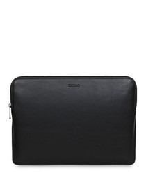 """Barbican leather 12"""" laptop sleeve"""