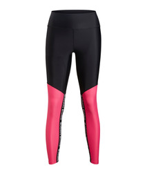 Fuchsia contrast sports leggings