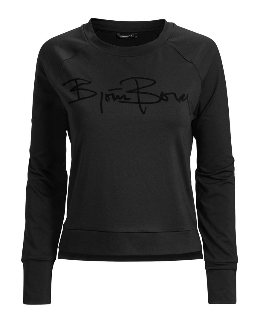 Black beauty logo sweatshirt Sale - Bjorn Borg