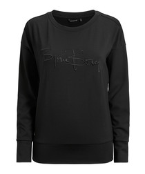 Black beauty logo sweatshirt