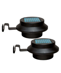 3pc solar gutter light set