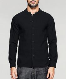 black pure cotton shirt