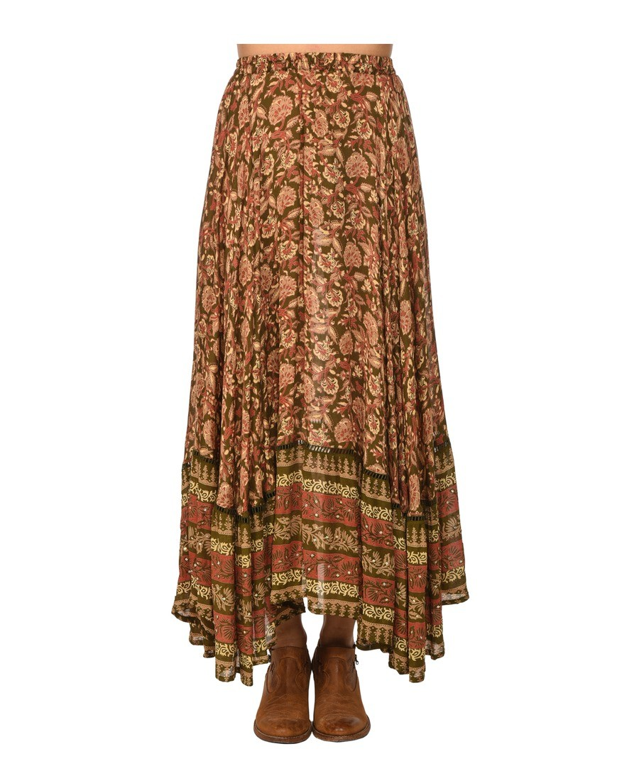 Printed long skirt CHARLIE Sale - Miss June