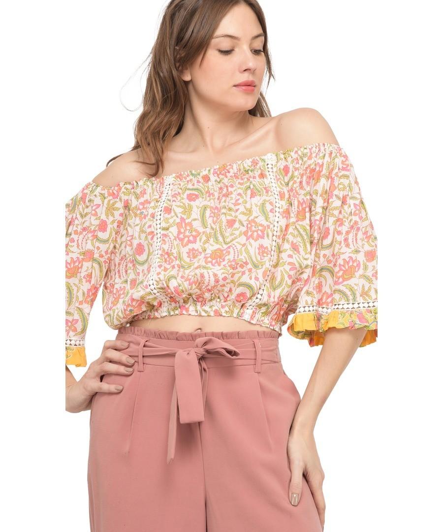 Printed blouse J62 Sale - Miss June
