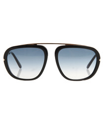 Johnson black & blue gradient sunglasses