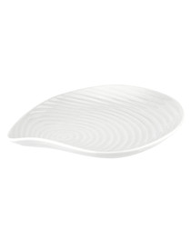 Shell china plate 22.2cm