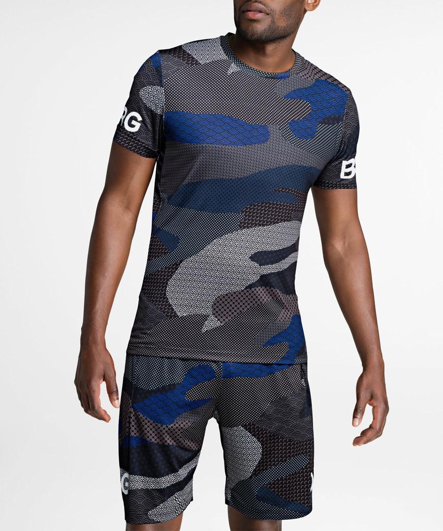 Asphalt print T-shirt Sale - bjorn borg