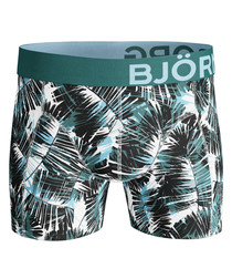 Summer palm print boxers