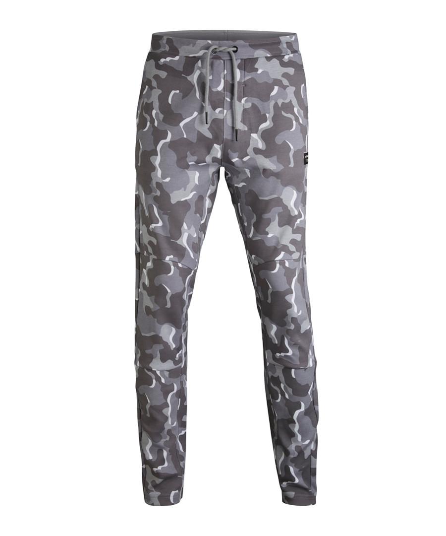 Grey camo print joggers Sale - bjorn borg