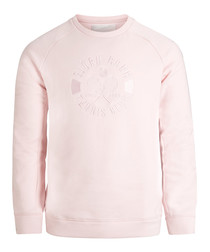 Cradle pink crew neck sweatshirt
