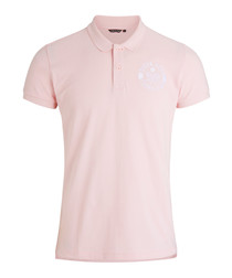Cradle pink pure cotton polo shirt