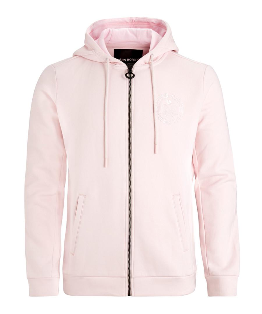 Cradle pink zip-up hoodie Sale - bjorn borg