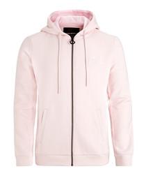 Cradle pink zip-up hoodie