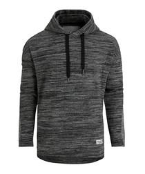 Breeze black melange hoodie
