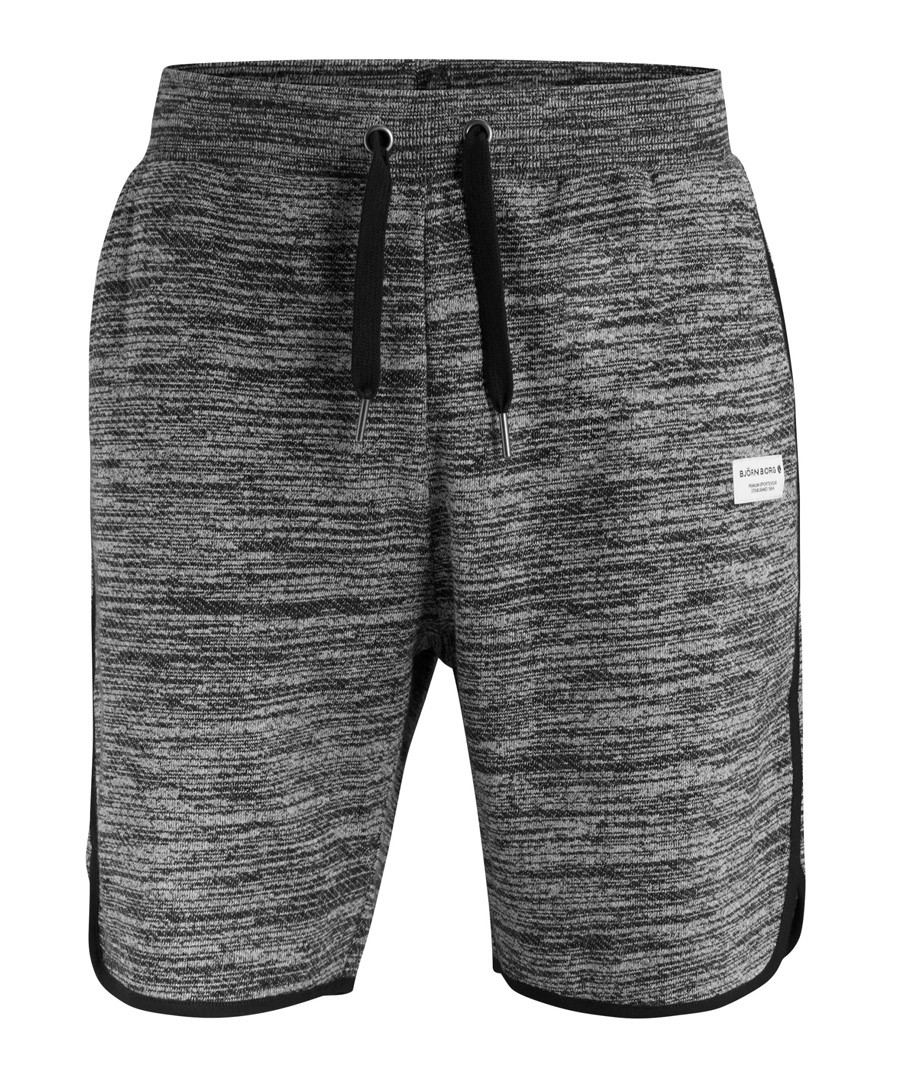 Breeze black melange sweat shorts Sale - bjorn borg