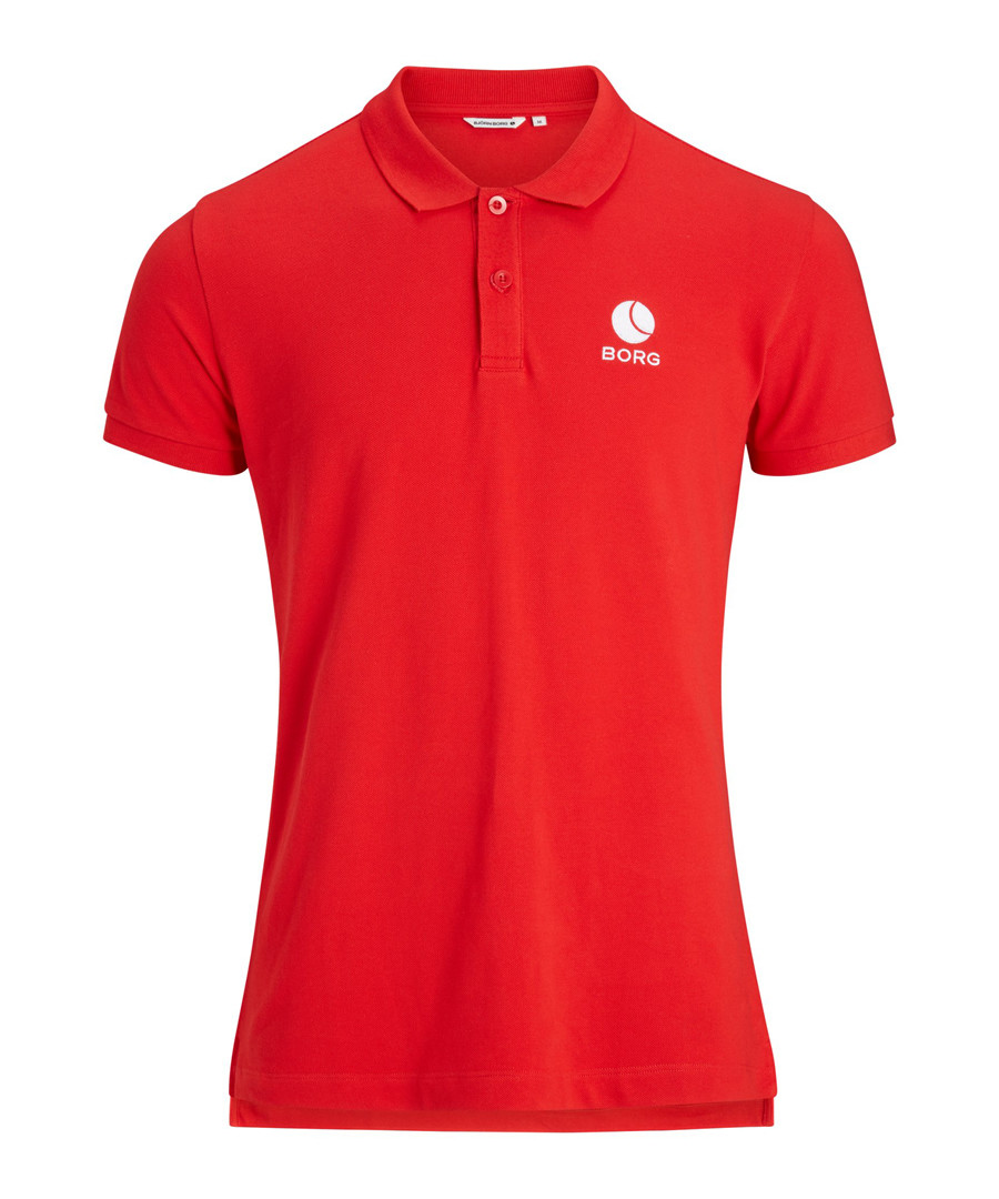 Chinese red pure cotton polo shirt Sale - Bjorn Borg