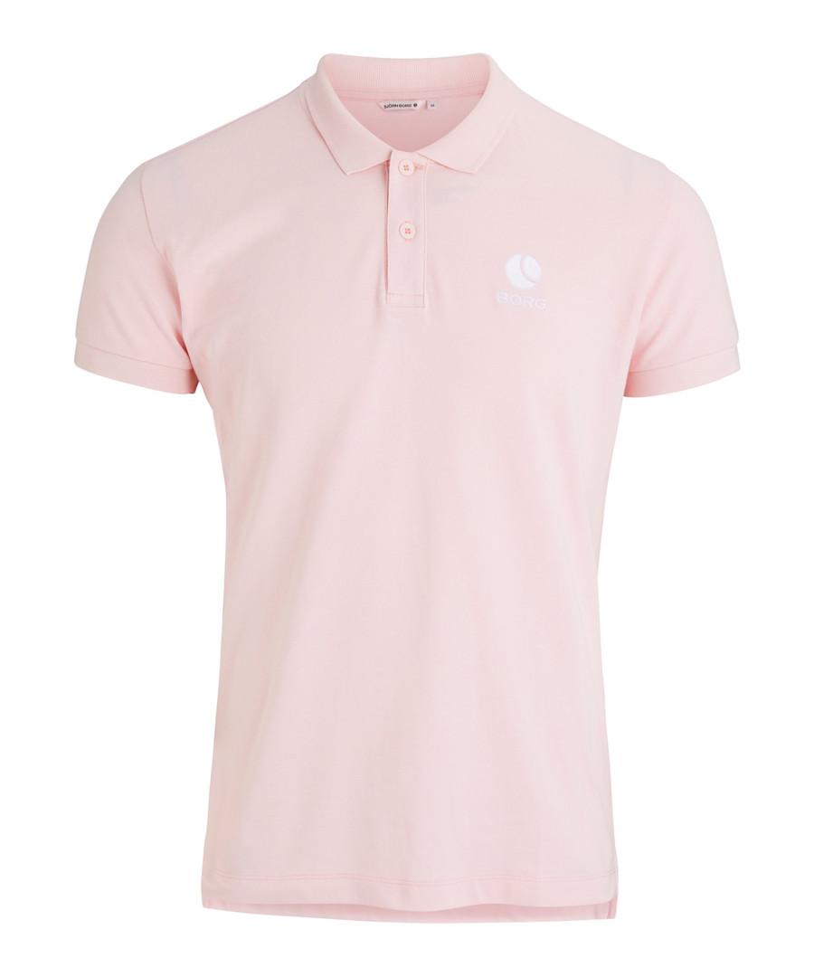 Cradle pink pure cotton polo shirt Sale - bjorn borg