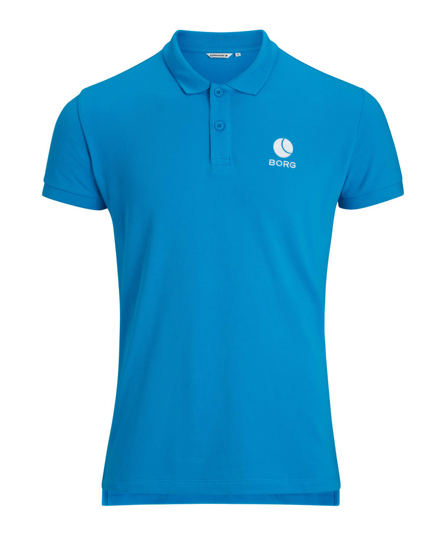 Hawaiian ocean pure cotton polo shirt Sale - Bjorn Borg