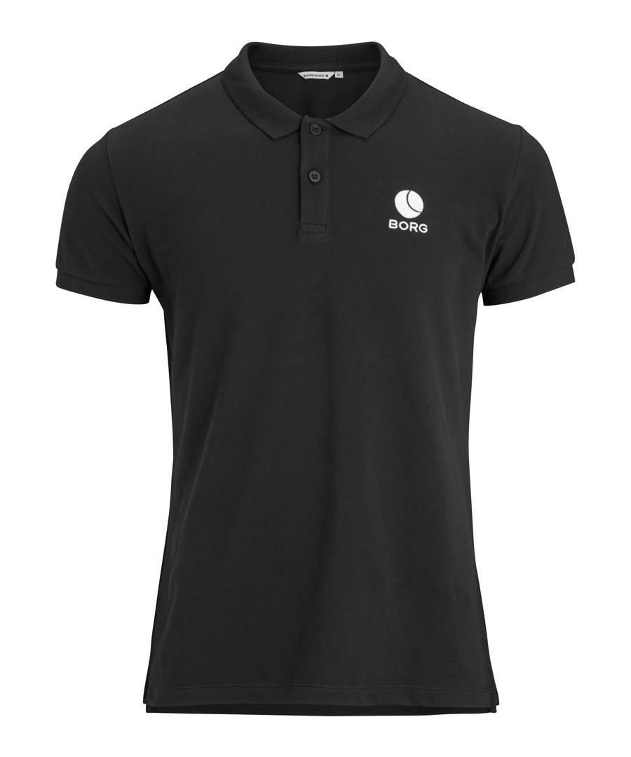 Black beauty pure cotton polo shirt Sale - bjorn borg