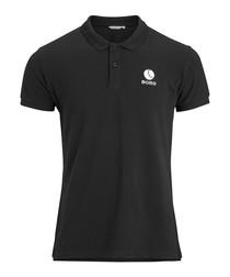 Black beauty pure cotton polo shirt