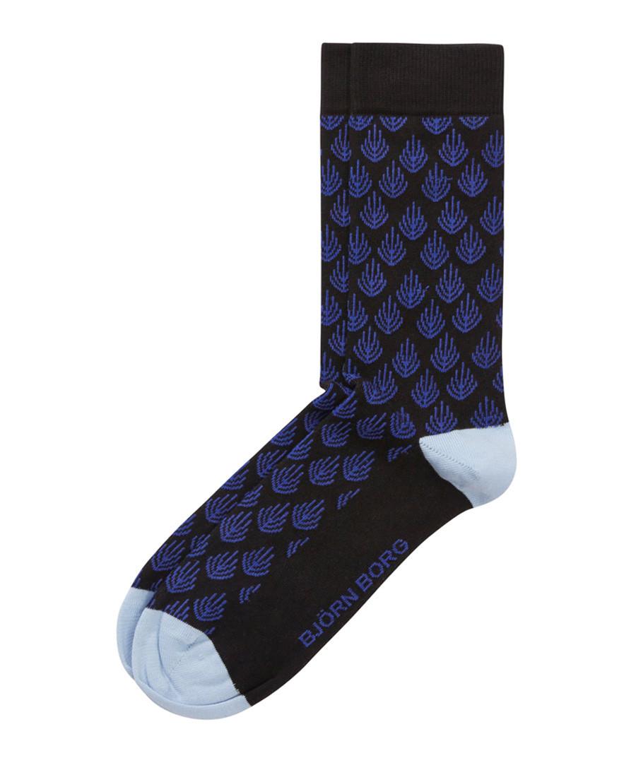 Black coral print socks Sale - bjorn borg