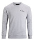 Grey melange pure cotton logo sweatshirt Sale - bjorn borg Sale