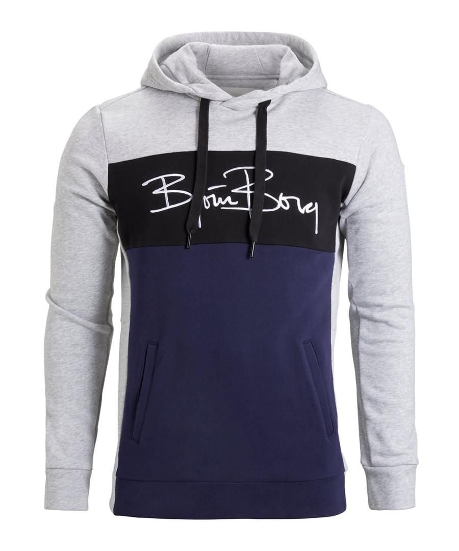 Signature colour block logo hoodie Sale - bjorn borg