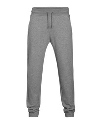 Light grey organic cotton joggers
