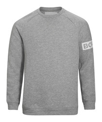 Light grey organic cotton sweatshirt