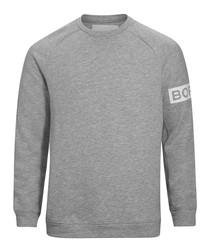 Light grey organic cotton sweatshirt