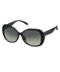 black rounded sunglasses