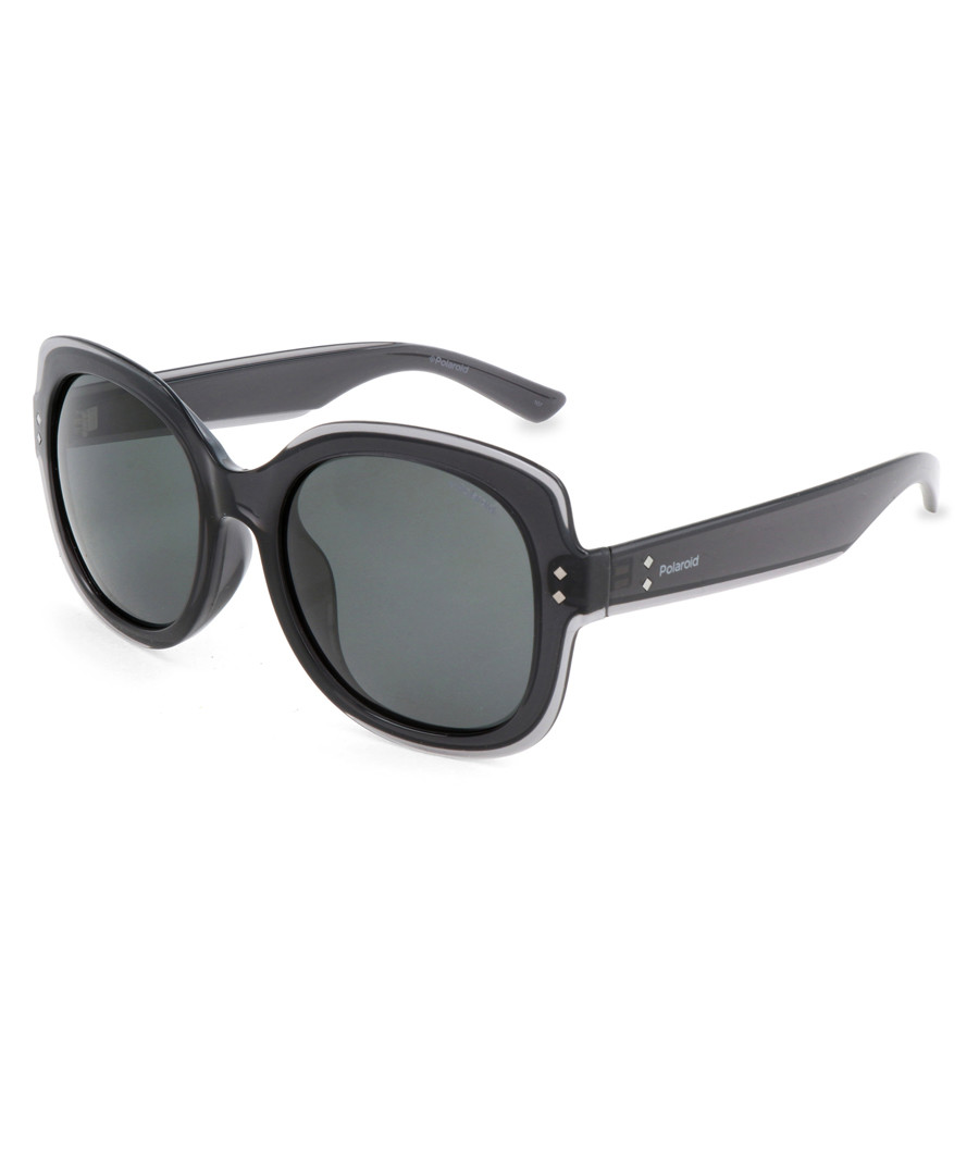 black squared sunglasses Sale - polaroid
