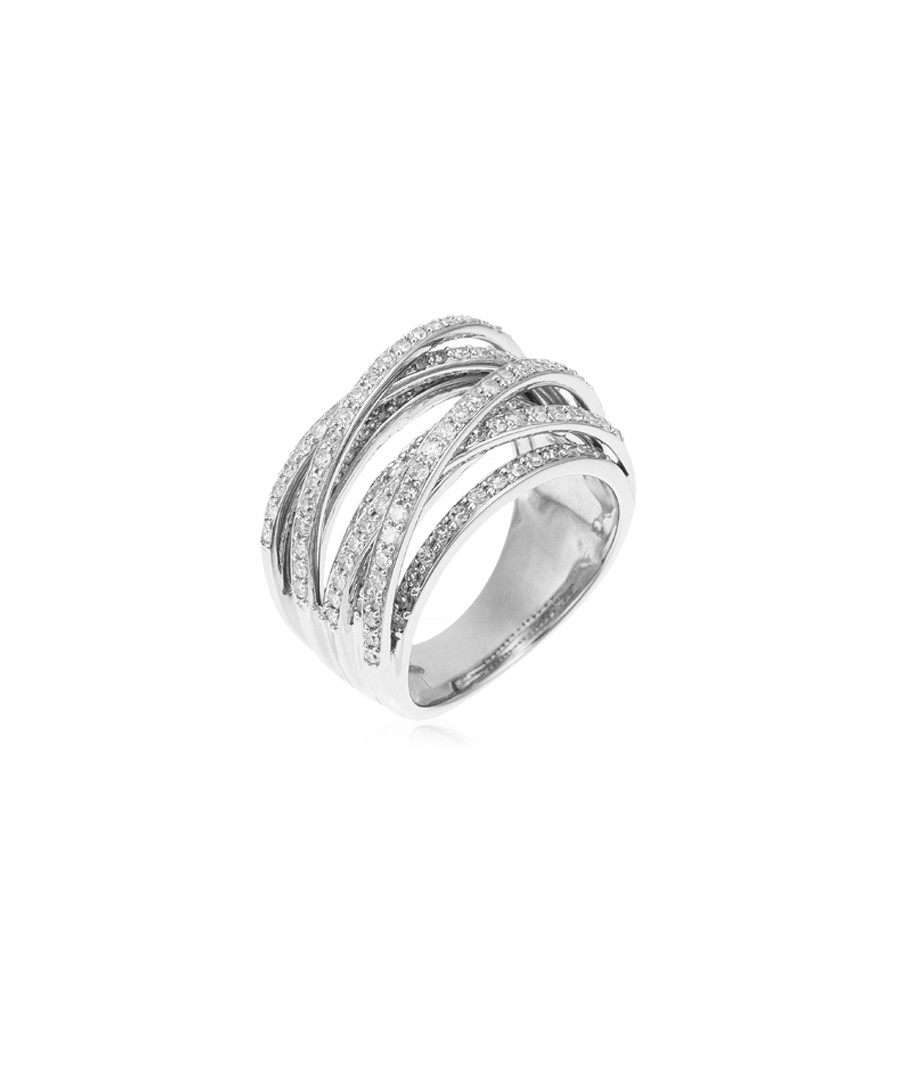 New Entrelacs white gold & diamond ring Sale - le diamantaire