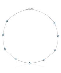 """Necklace """"Colors"""" Topaz 3.15 / 9"""