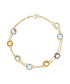 Multi-stone & gold bracelet Sale - le diamantaire Sale