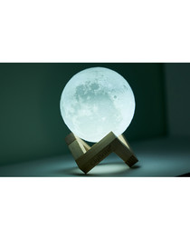 2pc Globrite touch control LED moon lamp