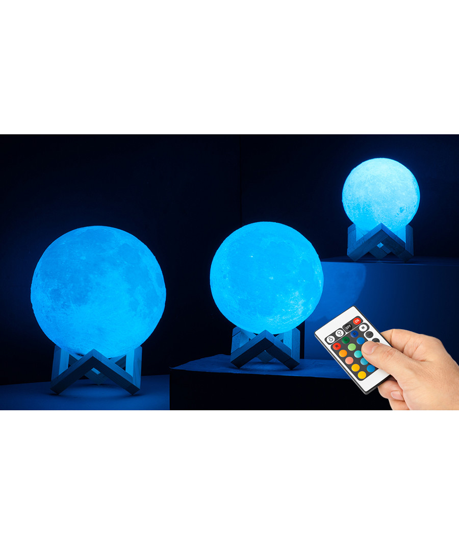 Globrite colour changing moon lamp 18cm Sale - dynergy