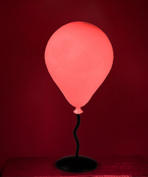 LED colour-changing balloon lamp