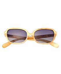 Harley yellow horn sunglasses