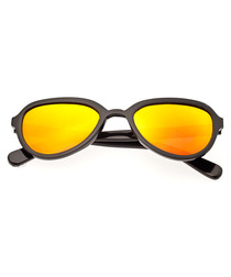 Alexa black & yellow sunglasses