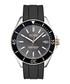Black rubber & stainless steel watch Sale - hugo boss Sale