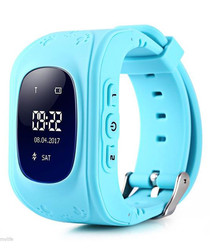 Kids' aqua GPS tracking smartwatch