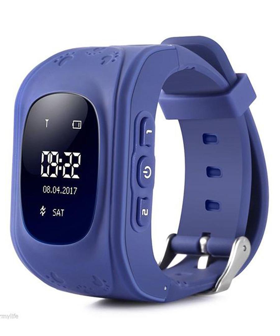 Kids' navy GPS tracking smartwatch Sale - dynergy