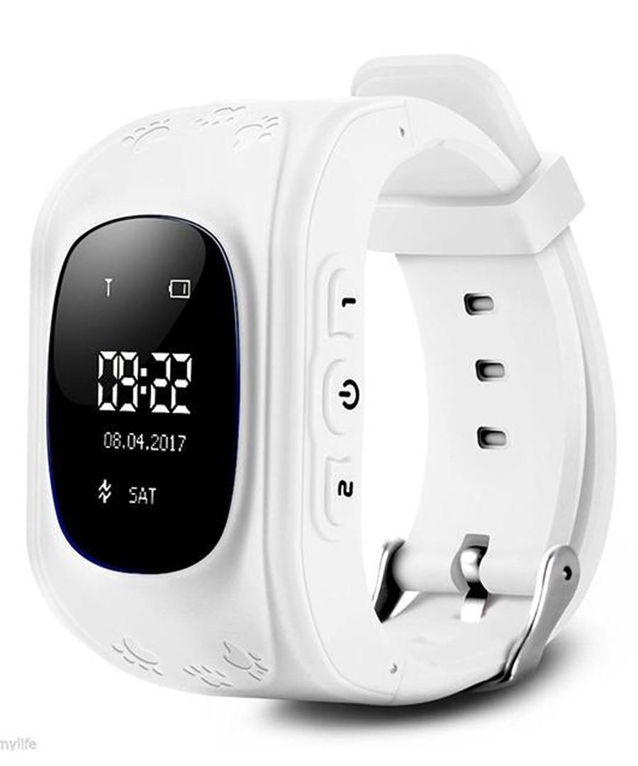 Kids' white GPS tracking smartwatch Sale - dynergy