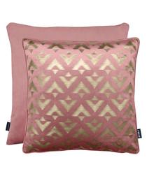 Samba blush cushion 43cm